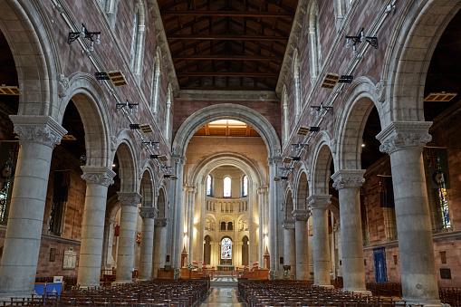 Northern Ireland「Interior of St Anne's Cathedral in Belfast」:スマホ壁紙(17)