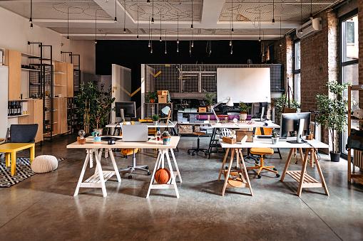 New Business「Interior of modern office」:スマホ壁紙(9)