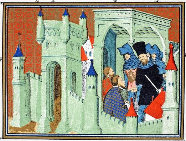 Circa 14th Century「Dukes Of Exeter And Surrey Deliver The King'S Message To The Duke Of Lancaster」:写真・画像(18)[壁紙.com]