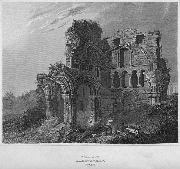 Pick Axe「Interior of Lindisfarn. West End, 1814」:写真・画像(14)[壁紙.com]