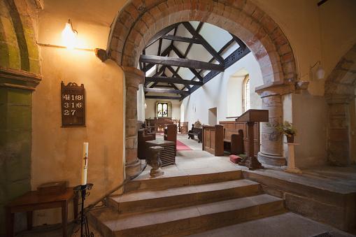 Singer「Interior Of A Church; Northumberland England」:スマホ壁紙(19)