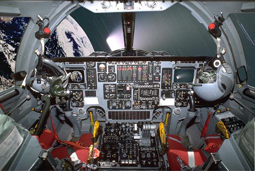 Space shuttle「Interior of space shuttle cockpit in orbit」:スマホ壁紙(7)