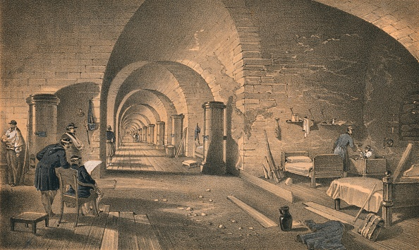 Ceiling「Interior of Fort Nicholas, 1856」:写真・画像(13)[壁紙.com]