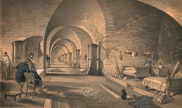 Ceiling「Interior of Fort Nicholas, 1856」:写真・画像(6)[壁紙.com]