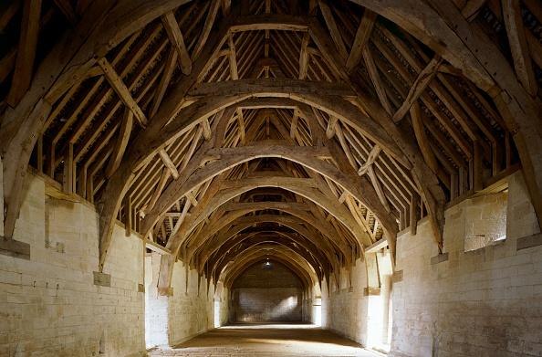 Ceiling「Interior of Bradford-on-Avon Tithe Barn, Wiltshire, c2000s(?)」:写真・画像(11)[壁紙.com]