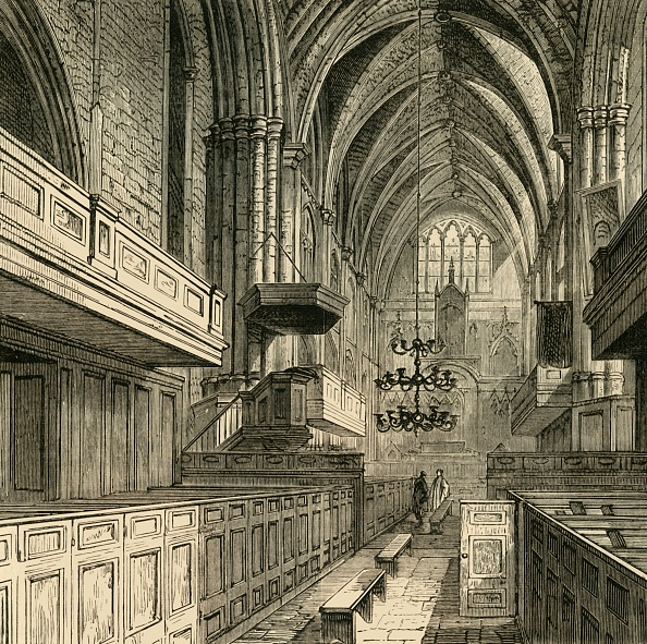 Ceiling「Interior Of St Saviours Church」:写真・画像(7)[壁紙.com]