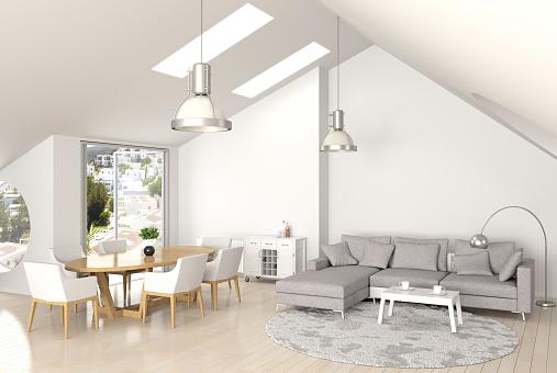 Lighting Equipment「Interior of living room」:スマホ壁紙(3)