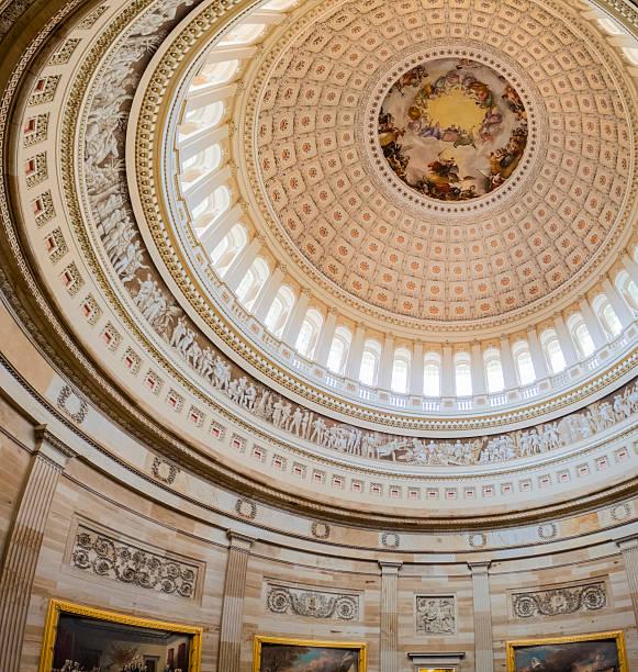 Interior of the United States Capitol Dome:スマホ壁紙(壁紙.com)