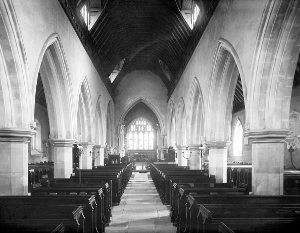 Circa 14th Century「Interior Of St Michaels Church,」:写真・画像(5)[壁紙.com]