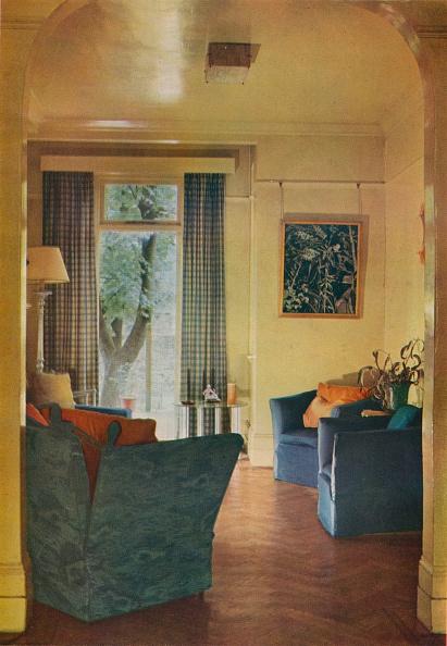 Armchair「Interior Of Mrs Ewart Sofio'S House, 25 Bark Place, Bayswater, London, 1932.」:写真・画像(12)[壁紙.com]