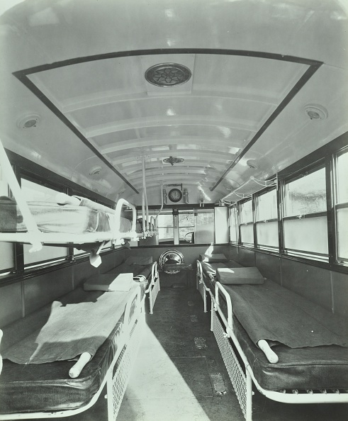 Sparse「Interior Of Coach Type Ambulance, Western Ambulance Station, Fulham, 1935. .」:写真・画像(15)[壁紙.com]