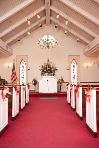 Aisle「Interior of wedding chapel」:スマホ壁紙(7)