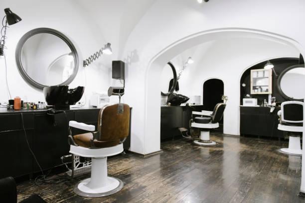 Interior of a barber shop:スマホ壁紙(壁紙.com)