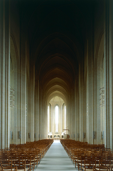 Blank「Interior of Grundtvig Kirke church.  Copenhagen, Denmark.」:写真・画像(11)[壁紙.com]