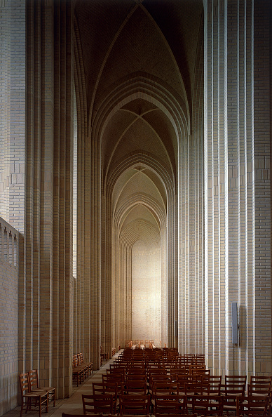 Blank「Interior of Grundtvig Kirke church.  Copenhagen, Denmark.」:写真・画像(12)[壁紙.com]