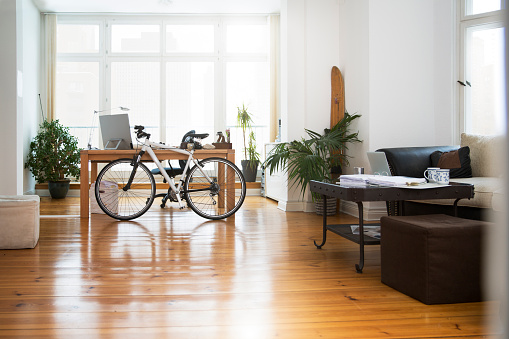 Bicycle「Interior of a modern informal office」:スマホ壁紙(17)