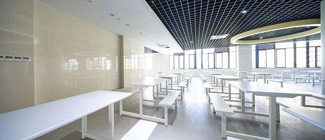 Dining「interior of school cafeteria」:スマホ壁紙(16)