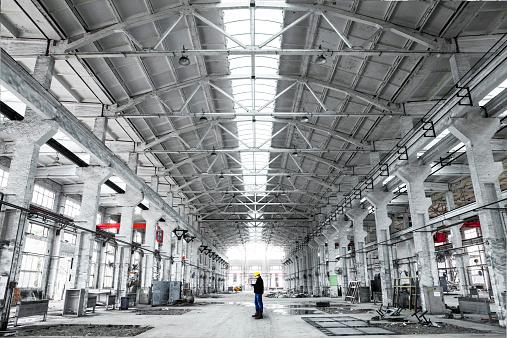 ������「interior of an industrial building」:スマホ壁紙(7)