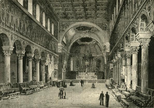 Ceiling「Interior Of San Apollinare Nuovo」:写真・画像(6)[壁紙.com]