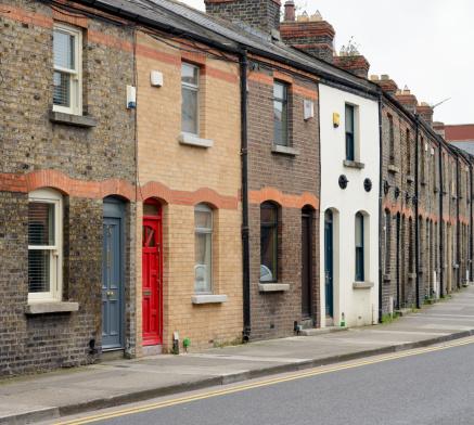 Dublin - Republic of Ireland「Dublin Residential Street」:スマホ壁紙(12)