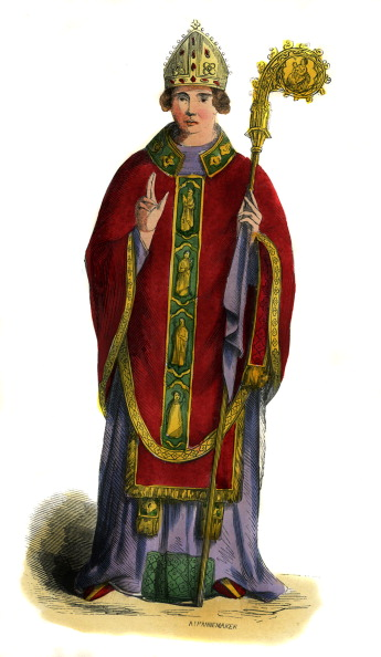 Religious Dress「English bishop - costume from 15th century」:写真・画像(5)[壁紙.com]