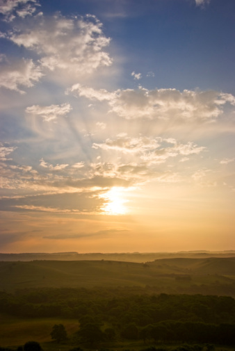 Hokkaido「Ranch in the morning」:スマホ壁紙(4)
