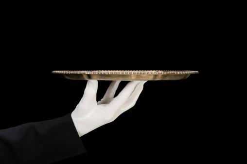 Unrecognizable Person「Silver Platter-horizontal」:スマホ壁紙(10)