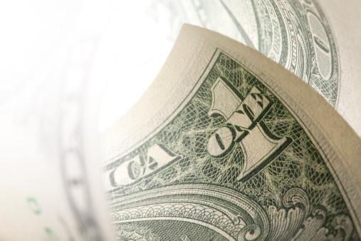 アメリカ通貨「1 ドル紙幣」:スマホ壁紙(9)