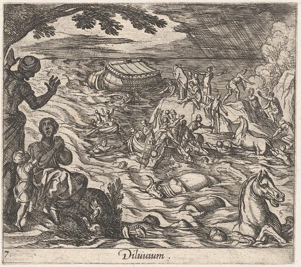 Etching「Plate 7: The Flood (Diluvium.)」:写真・画像(3)[壁紙.com]