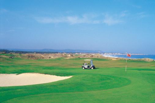 Sand Trap「cart at golf course」:スマホ壁紙(7)