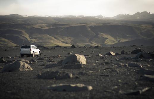 Rolling Landscape「Iceland, Skoga, off-road vehicle」:スマホ壁紙(18)