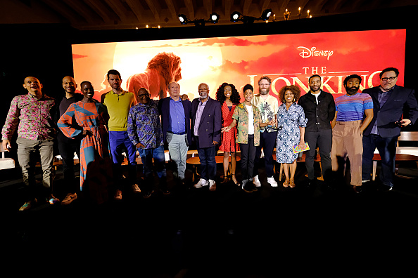 "Press Room「The Global Press Conference For Disney's ""THE LION KING""」:写真・画像(8)[壁紙.com]"