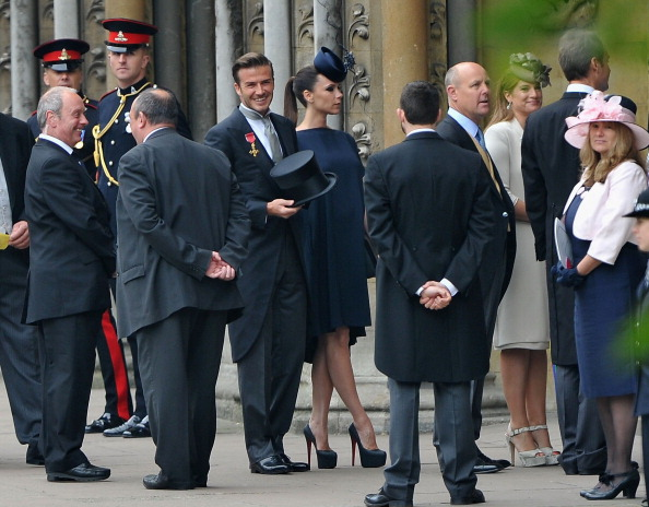 High Heels「Royal Wedding - Wedding Guests And Party Make Their Way To Westminster Abbey」:写真・画像(9)[壁紙.com]
