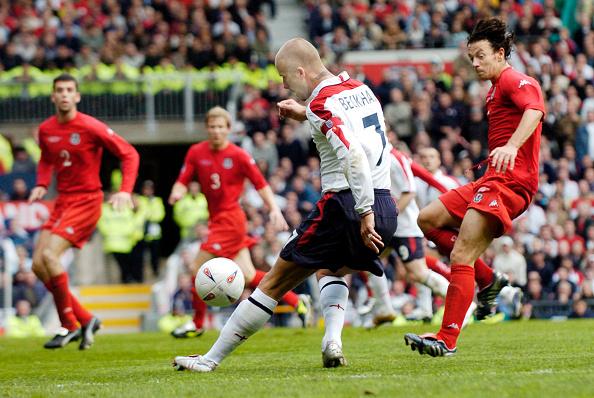 David Ashdown「England v Wales at Old Trafford FIFA World Cup Europe qualifier 2004」:写真・画像(16)[壁紙.com]