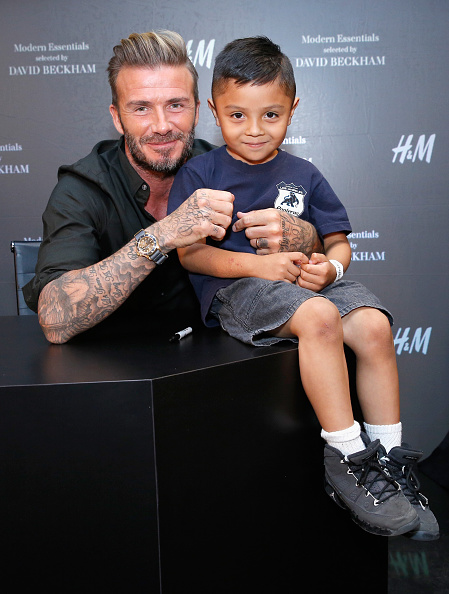 David M「David Beckham Launches H&M Modern Essentials Campaign In Los Angeles Area」:写真・画像(14)[壁紙.com]