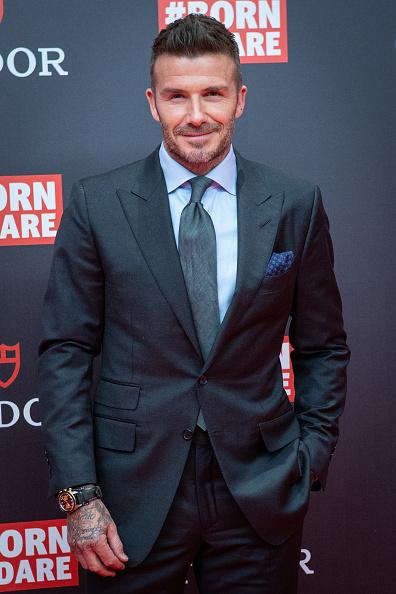 Pocket Square「David Beckham Presents Tudor New Collection In Madrid」:写真・画像(1)[壁紙.com]