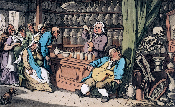 Cartoon「I Have A Secret Art To Cure/ Each Malady Which Men Endure' 1814」:写真・画像(12)[壁紙.com]
