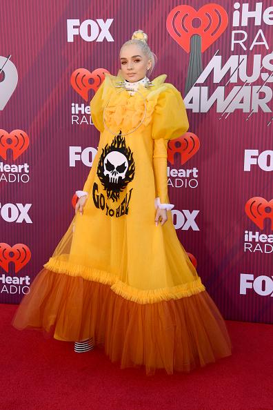 Maxi Dress「2019 iHeartRadio Music Awards - Arrivals」:写真・画像(16)[壁紙.com]