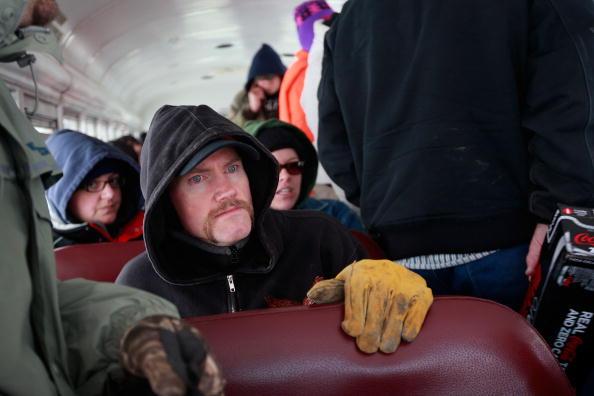 School Bus「North Dakota's Red River Valley Prepares For Flooding」:写真・画像(19)[壁紙.com]