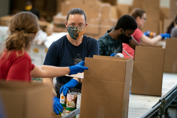 Responsibility「DC-Based Capital Area Food Bank Works To Distribute Food To Local Pantries」:写真・画像(11)[壁紙.com]