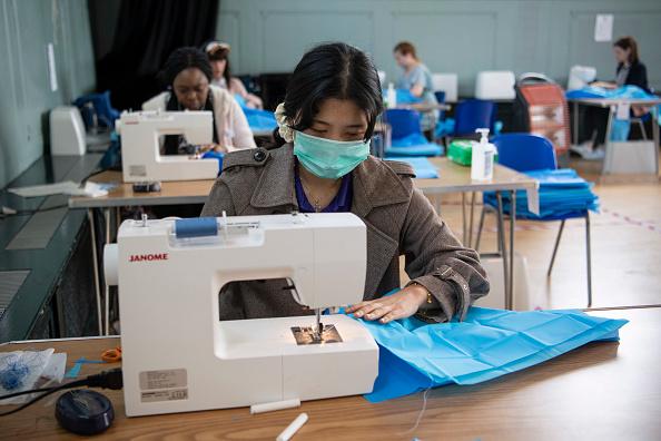 Sewing Pattern「UK In Seventh Week Of Coronavirus Lockdown」:写真・画像(12)[壁紙.com]