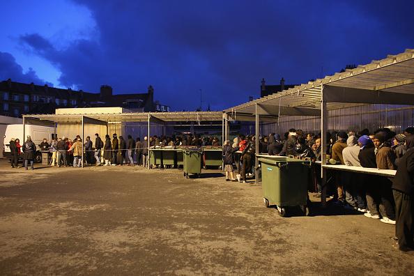 Sangatte「Migrants Gather At Calais Border Pressure Point」:写真・画像(17)[壁紙.com]