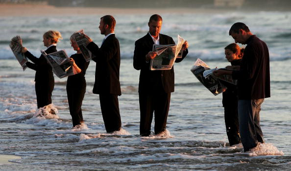 Individuality「Human Sculpture Created On Manly Beach」:写真・画像(14)[壁紙.com]