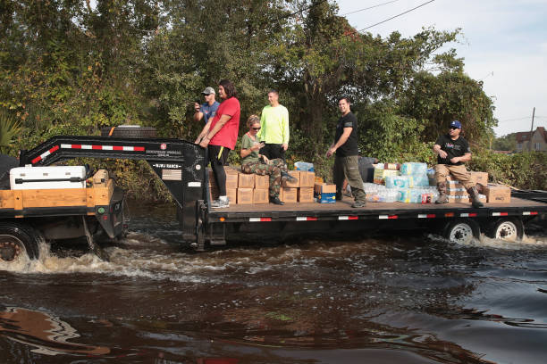Southeast Texas Inundated After Harvey Makes Second Pass Over The Region:ニュース(壁紙.com)