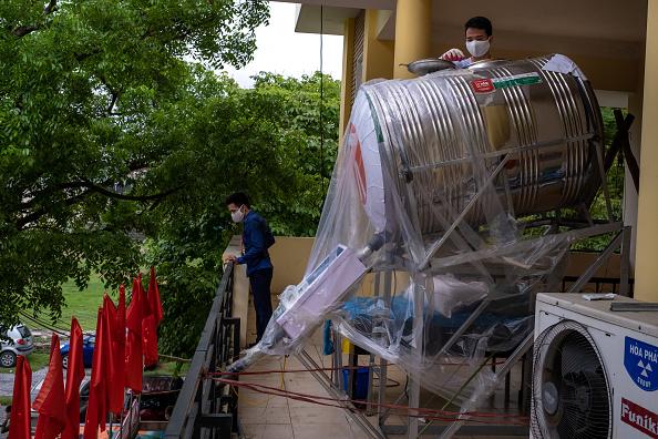 Linh Pham「Vietnam Impose Social Distancing To Contain Spread Of The Coronavirus」:写真・画像(4)[壁紙.com]