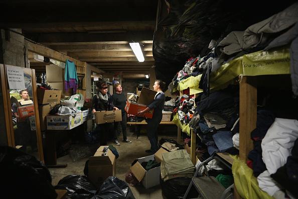 Sangatte「Migrants Gather At Calais Border Pressure Point」:写真・画像(13)[壁紙.com]