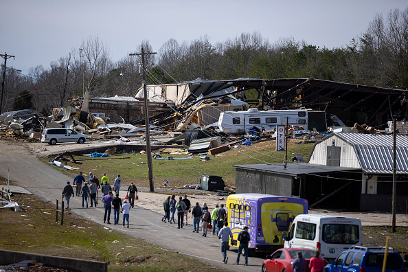 Tennessee「22 Dead As Tornadoes Roar Across Tennessee, Including Nashville」:写真・画像(8)[壁紙.com]