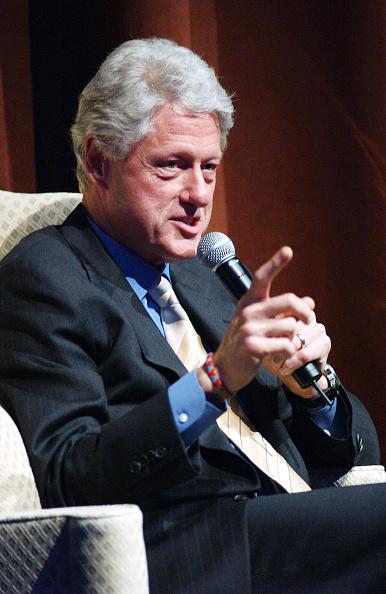 Columbus Circle「Time Warner Conversations With President Bill Clinton」:写真・画像(12)[壁紙.com]