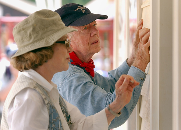 Nature「Former President Carter Works On Habitat For Humanity Homes」:写真・画像(3)[壁紙.com]