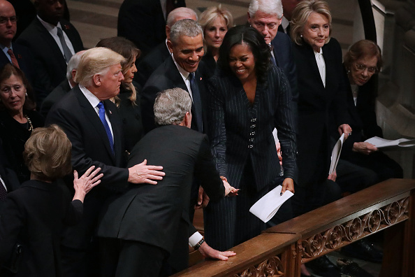 Funeral「State Funeral Held For George H.W. Bush At The Washington National Cathedral」:写真・画像(0)[壁紙.com]